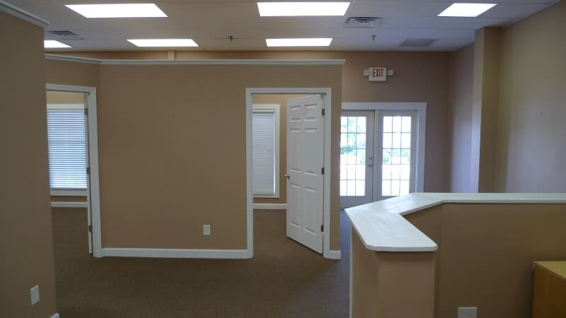 commercial construction offices build out