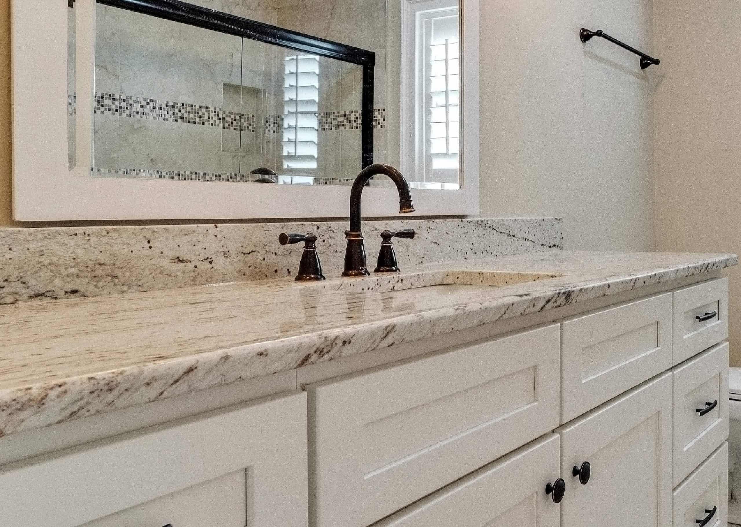 Bathroom remodeling with granite countertops