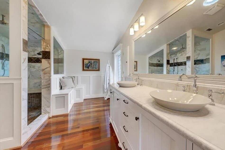 Coastal Style Bathroom Remodel Indian Rocks Beach