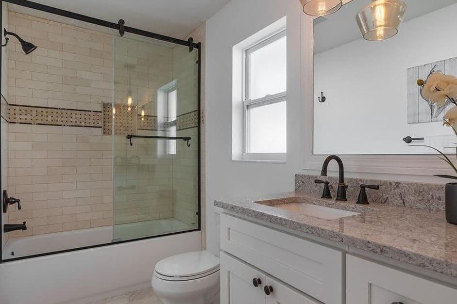 Modernized Bathroom Remodel Clearwater