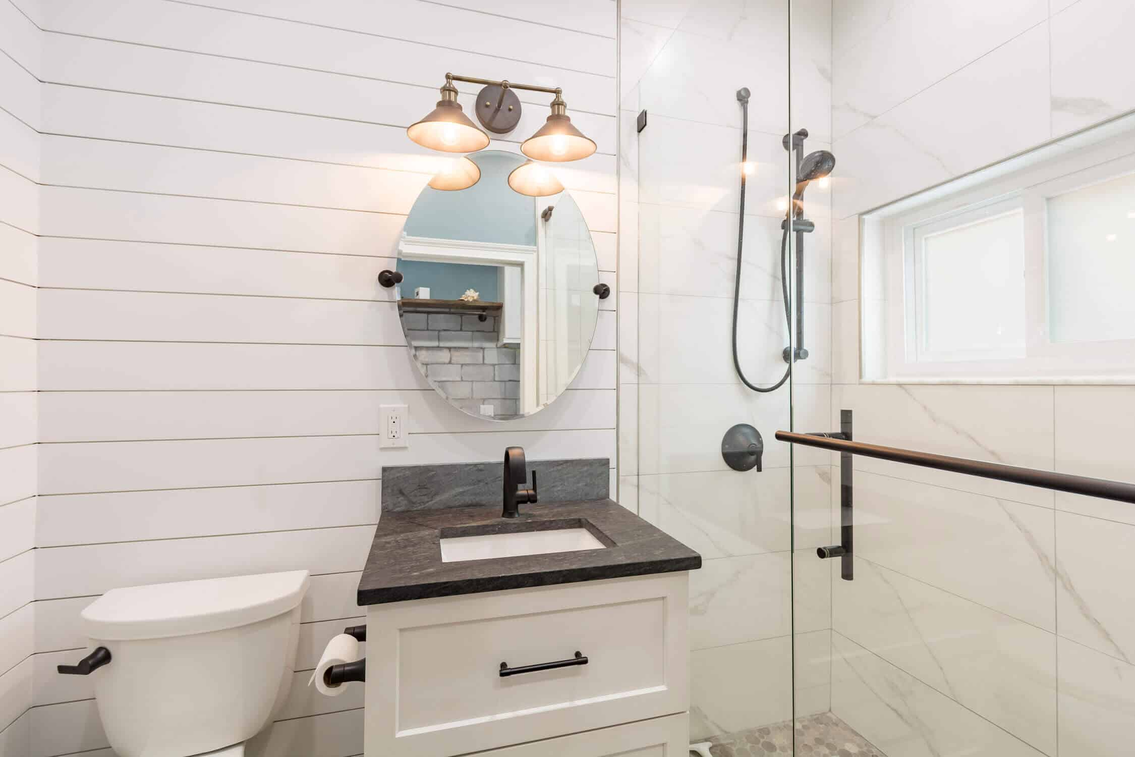 Nautical style bath remodel