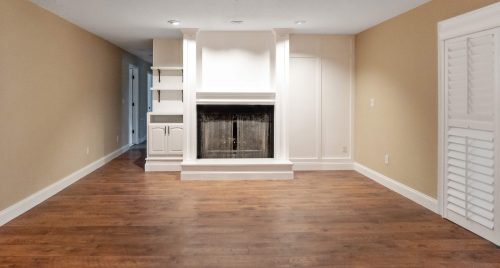 Remodeled Home Fireplace feature