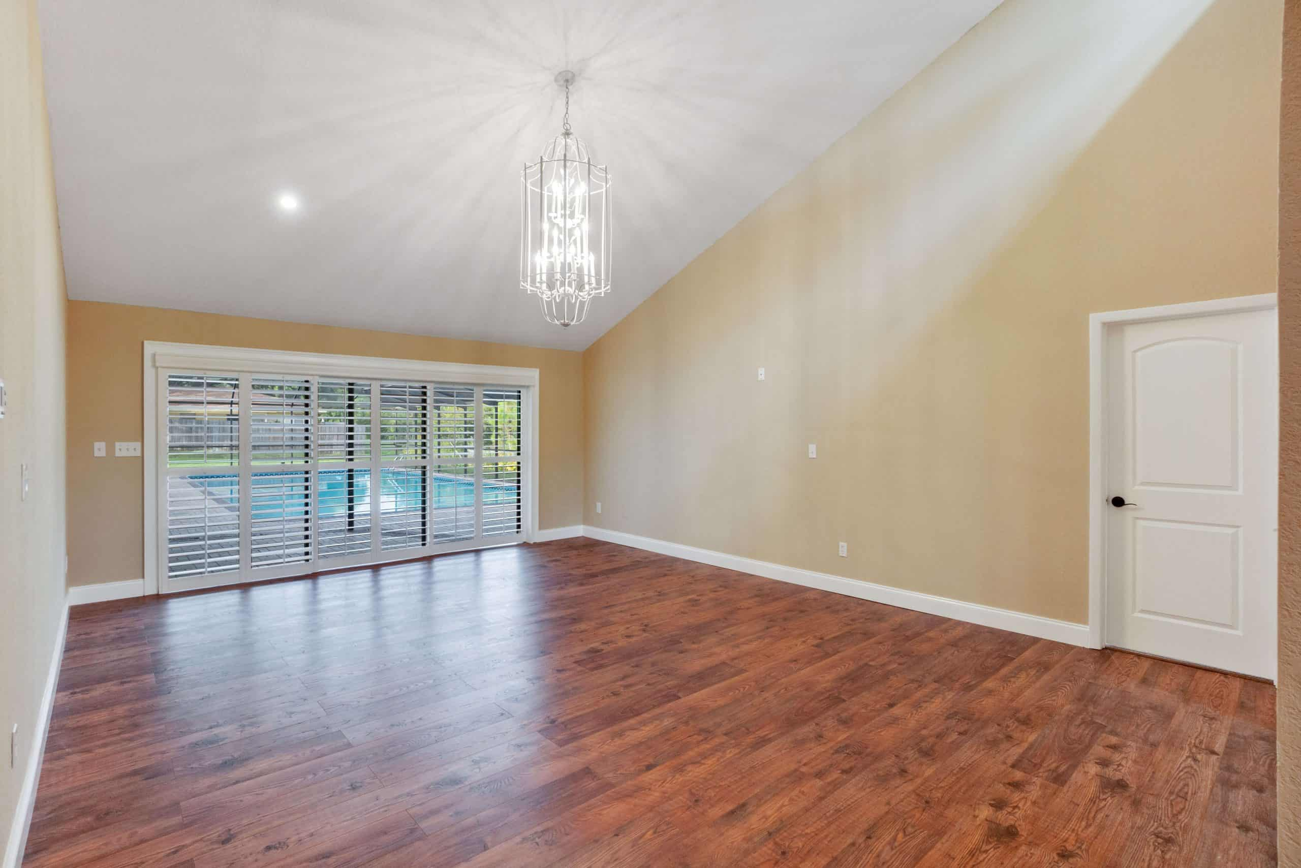 Remodeling Living area