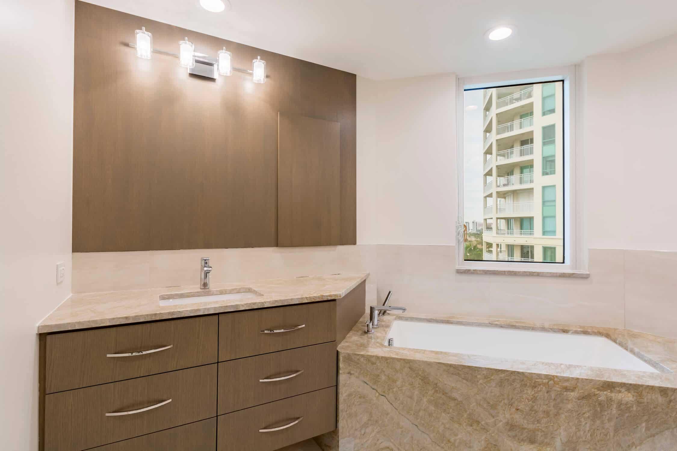 condo remodeling small bath