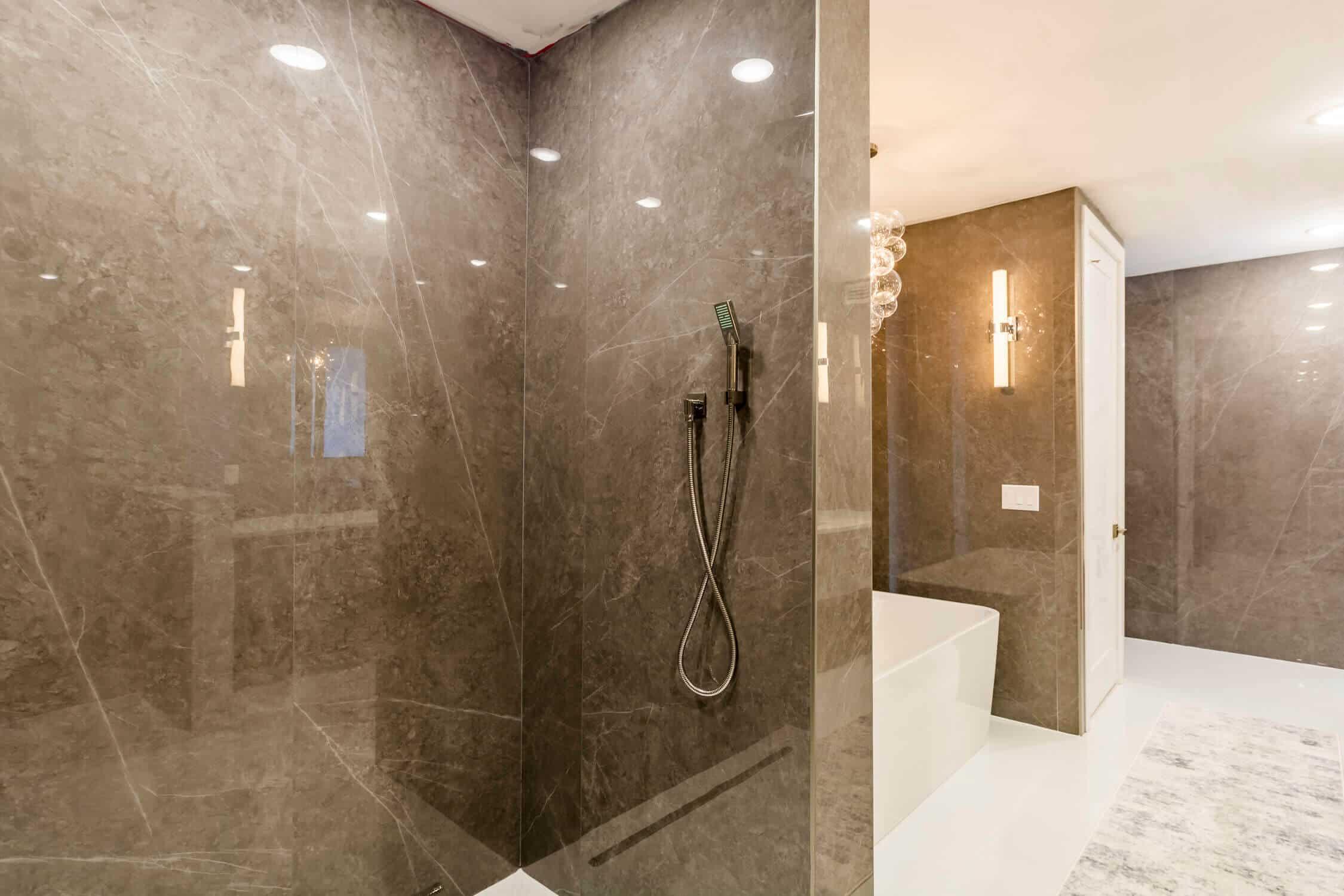 luxurious bathroom condo remodel