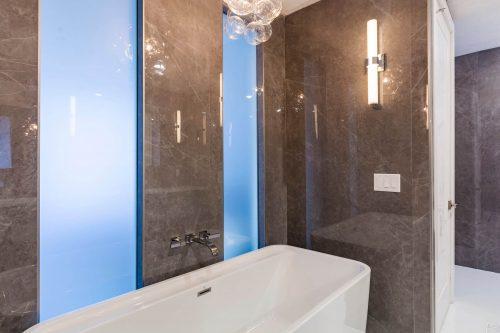 luxurious condo bath remodel