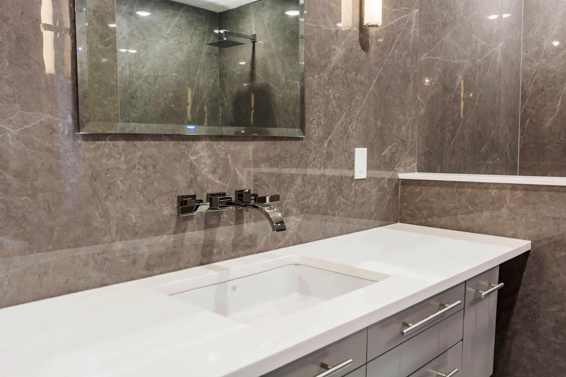stunning bathroom remodel