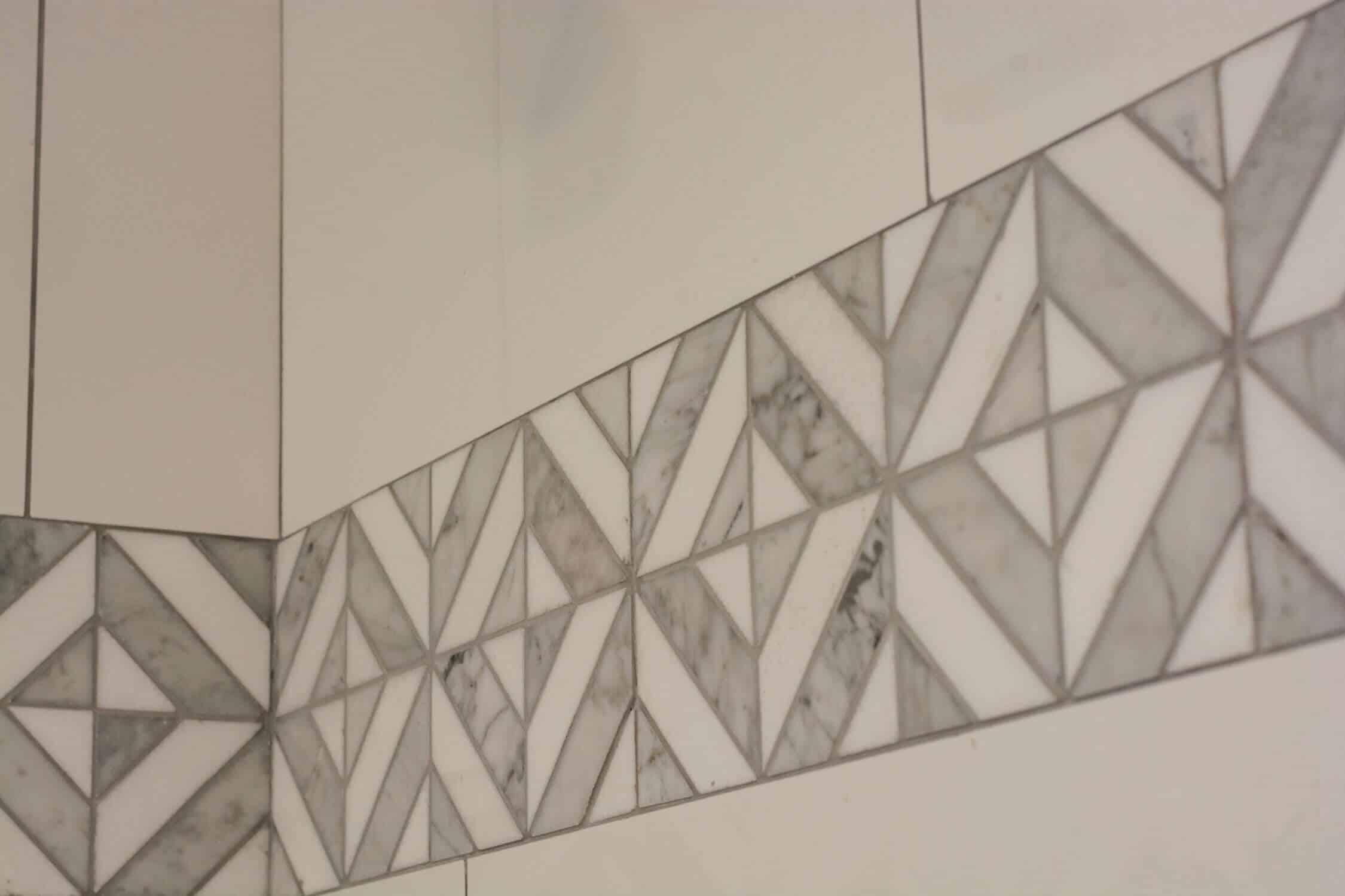 bathroom wall patterns