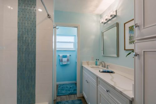 Bathroom remodeling with nautical theme