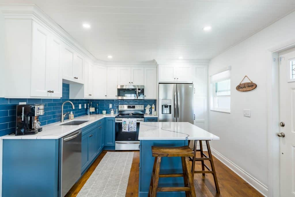 Indian Rocks Beach Kitchen Remodel from neighboring Indian Shores