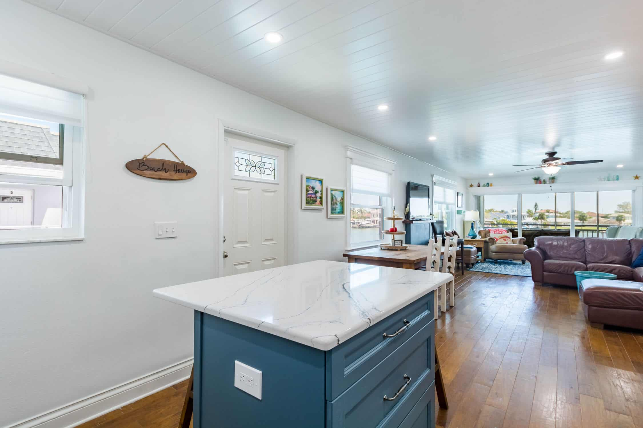 Indian Rocks Beach Kitchen Remodeling nautical appearance